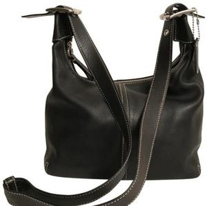 Convertible Lagacy 9566 Black Silver Leather Cross